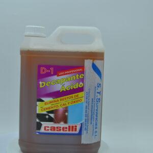 Decapante ácido Caselli d-1