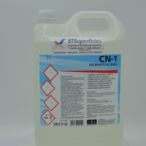 CN 1 decapante alcalino