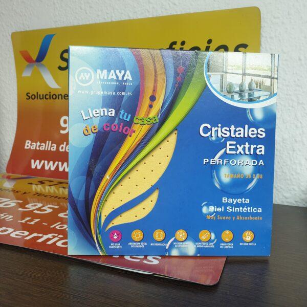 Bayeta cristales extra piel sintética