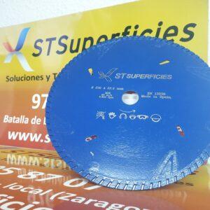 Disco de corte 230 mm laser