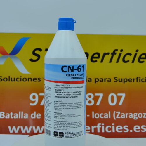 CN 61 Cledax Neutro perfumado 1 l.