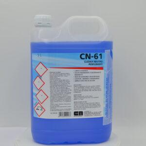 CN 61 Limpiador higienizante neutro perfumado Cledax
